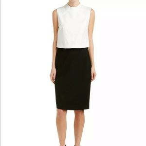 Diane Von Furstenberg Tali Black and Ivory Dress 8